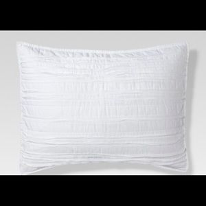 Threshold Raw Edge Quilted Pillowcases
